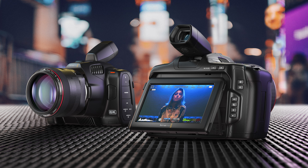 """The latest innovation launched by the Blackmagic Design - """"The Pocket Cinema Camera 6K Pro"""""""