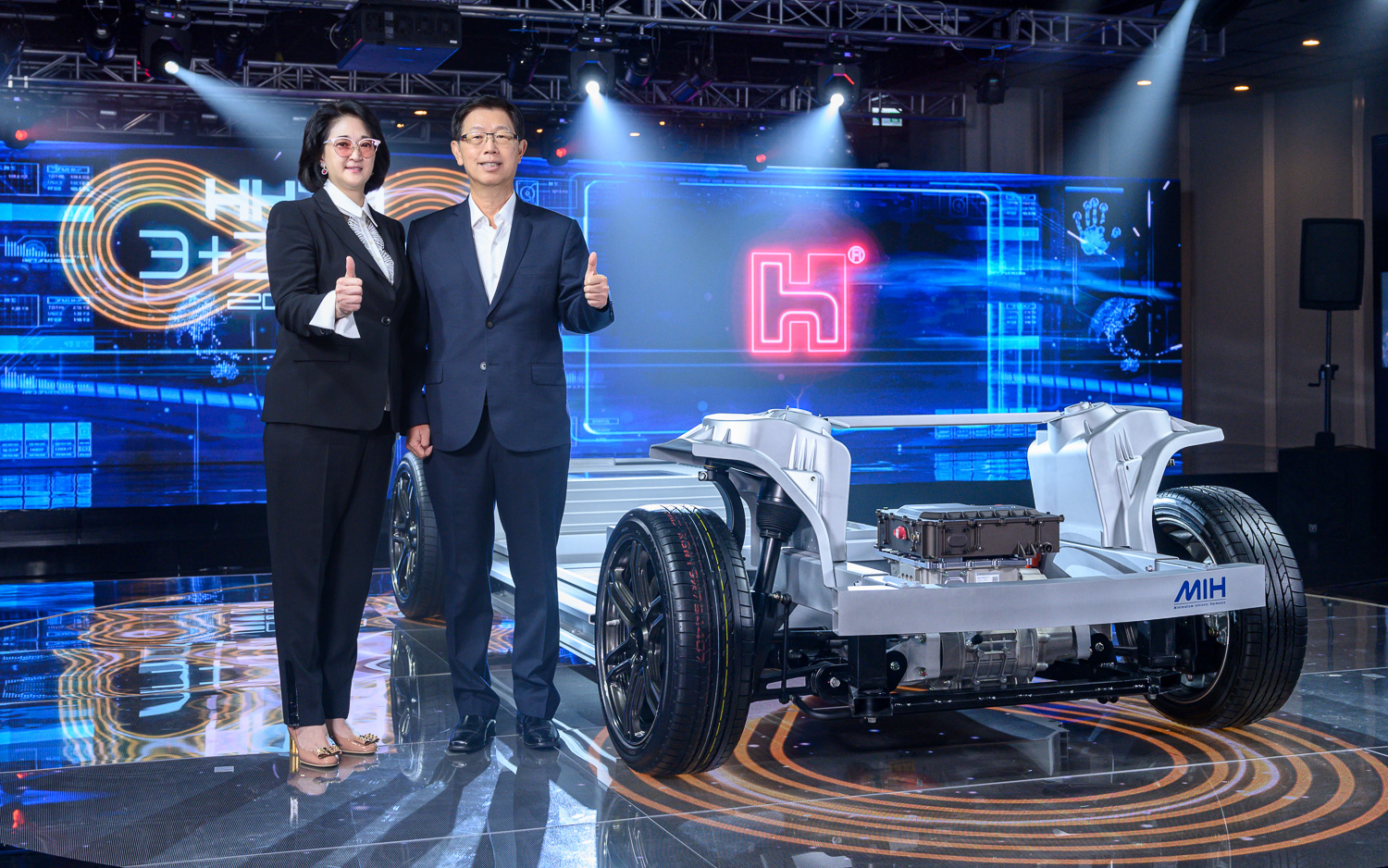 Foxconn wants to break into EV market with MIH, an open platform for EVs