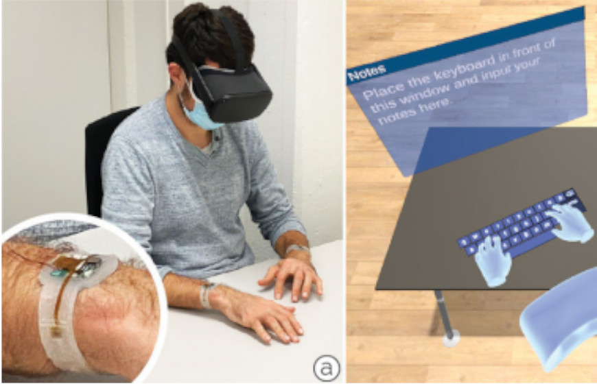 TapID Uses Bone Conduction for Better Typing VR Experience